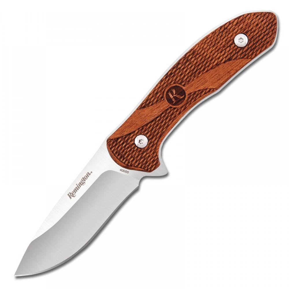 Нож BUCK Remington R40000 Fixed 7.4 Wood Handle