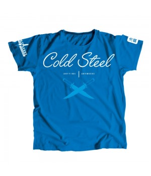 Футболка Cold Steel TK2 Cross Guard Blue Tee for Women (M)