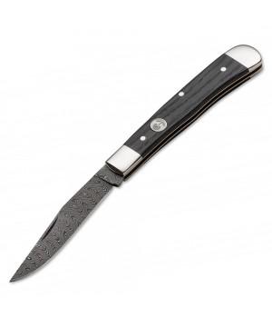 Нож Boker 112545DAM Trapper Classic Damascus