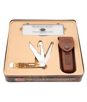Набор подарочный Case 06019 Hunter Trapper (6354GS SS)