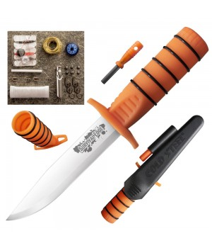 Мачете Cold Steel 80PH Survival Edge Orange