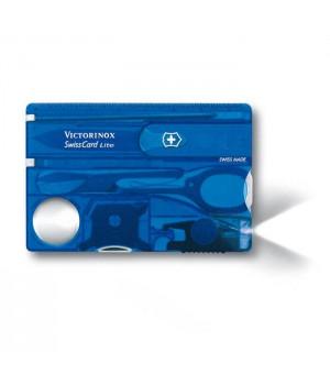 Victorinox 0.7322.T2 SwissCard Lite Sapphire