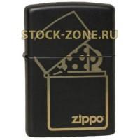 Zippo 218 ZIPPO logo