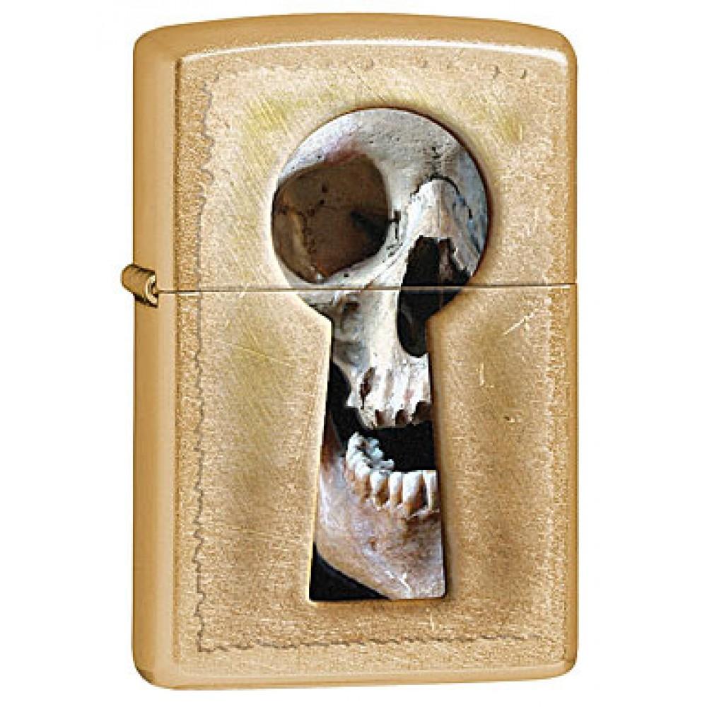 Zippo 28540 Keyhole Skull