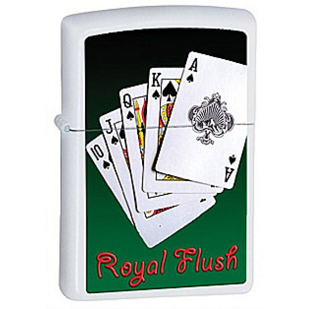Zippo 28038 Royal Flush