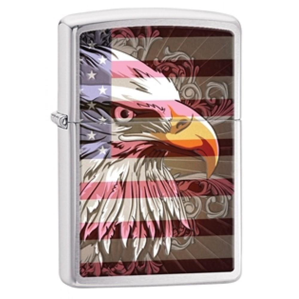 Zippo 28652 Eagle Flag