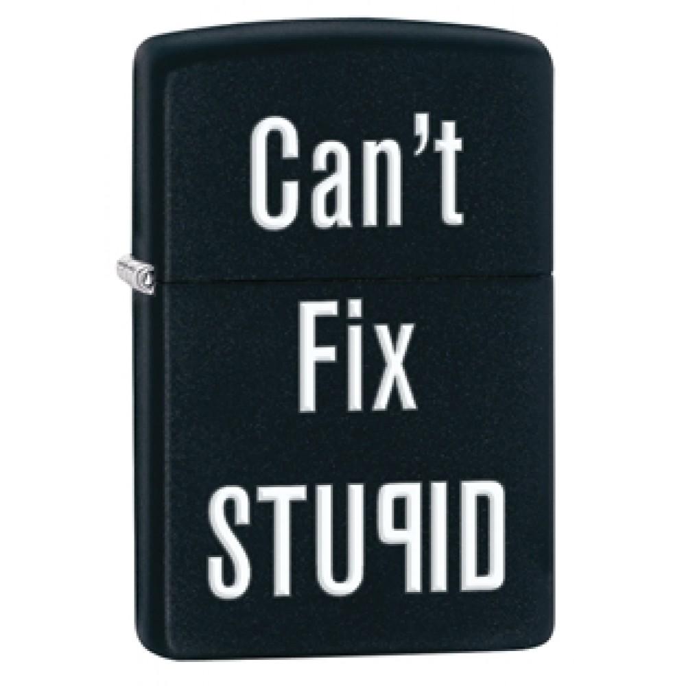 Zippo 28664 Can't fix stupid