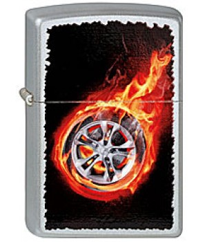Zippo 205 Tire On Fire