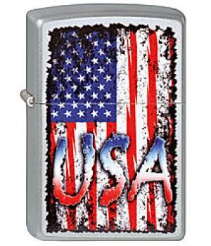 Zippo 205 USA Flag
