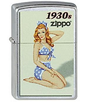 Zippo 207 Pin Up Girl 1930