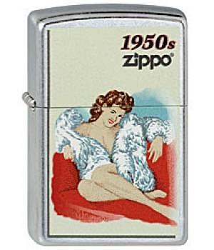 Zippo 207 Pin Up Girl 1950