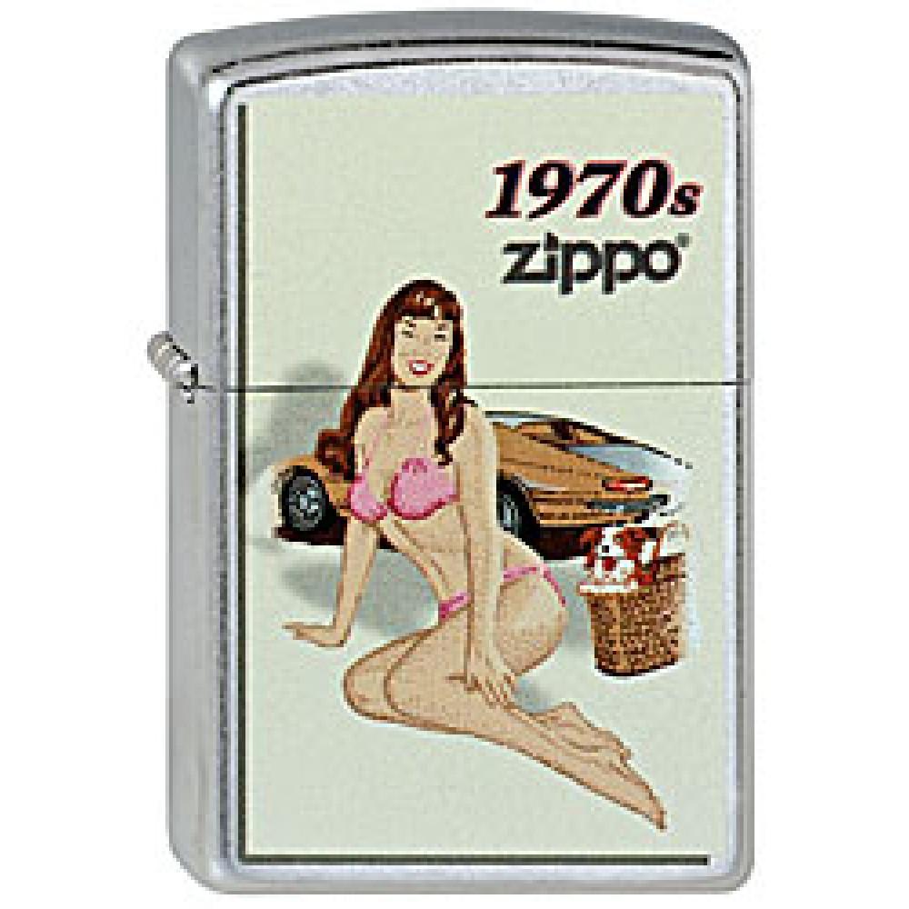 Zippo 207 Pin Up Girl 1970