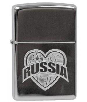 Zippo 250 I Love Russia