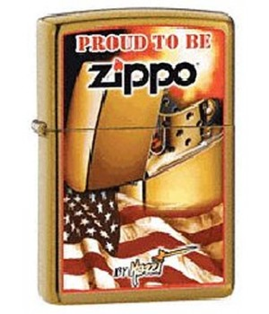 Zippo 24746 Mazzi Flag