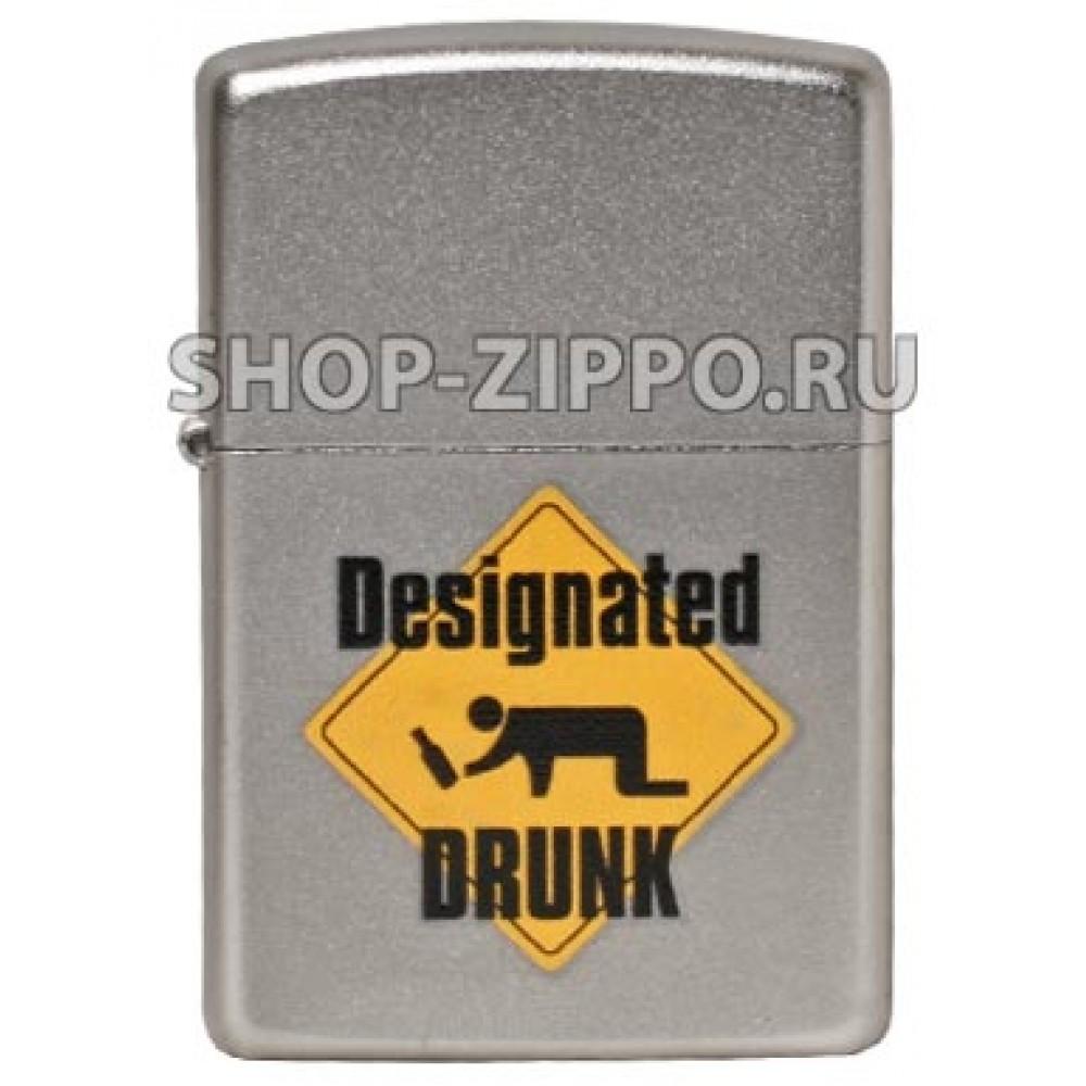 Zippo 205 Designated Drunk