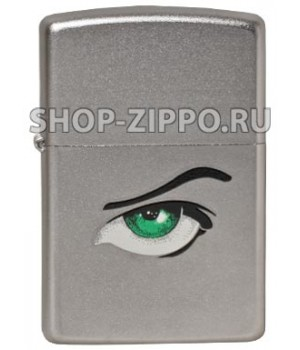 Zippo 205 Green Eyes