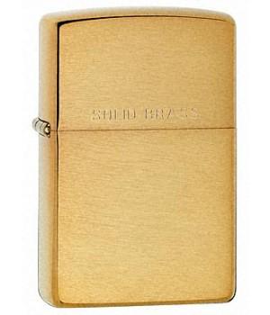 Zippo 204 Solid Brass