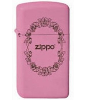 Zippo 1638 Rose Border